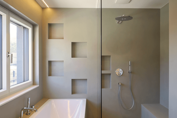 8-Ansicht Badewanne und dusche
